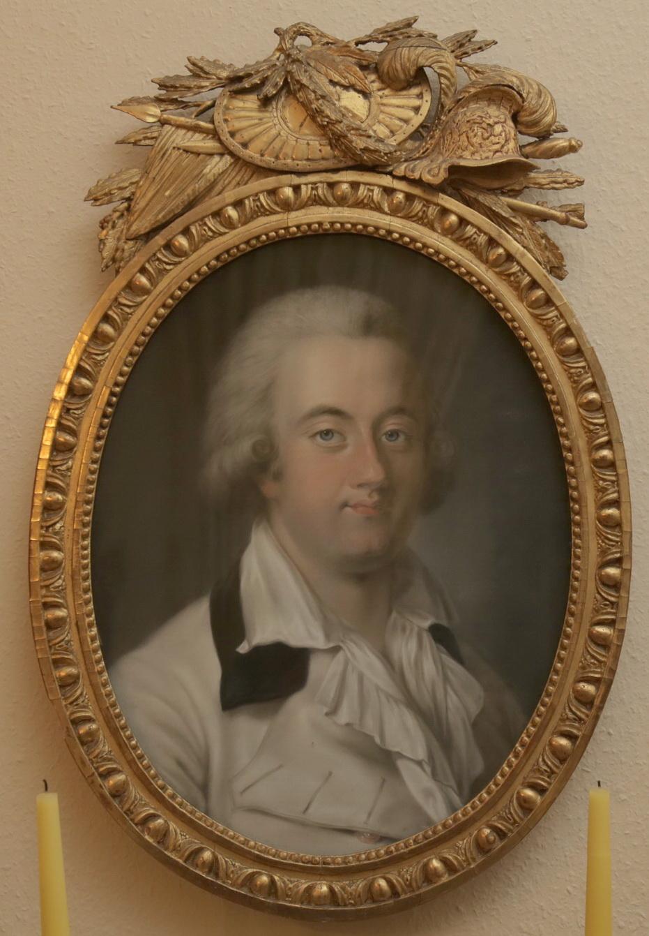 Foto eines Gemäldes von Fürst Carl