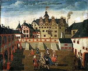 Das Schloss am Übergang vom Mittelalter zur frühen Neuzeit, um 1500.