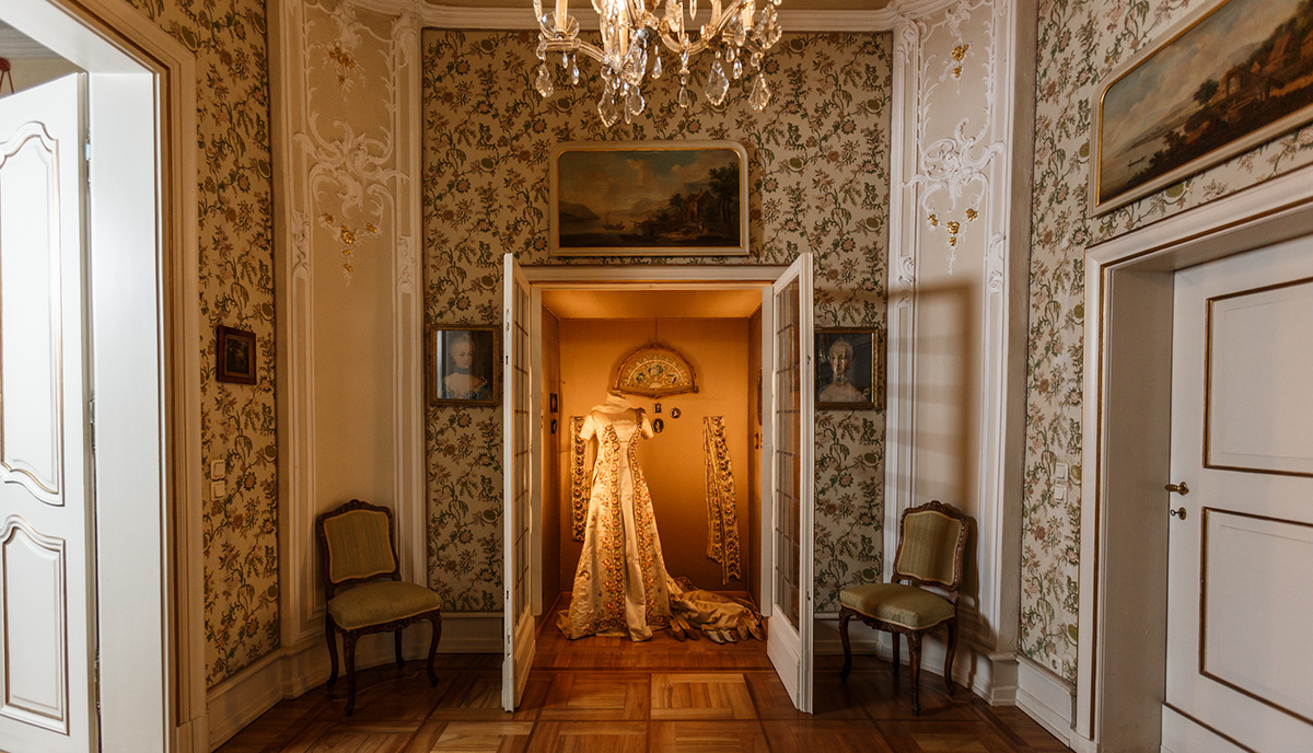 Fürstin Charlotte trug dieses Kleid während des Wiener Kongresses