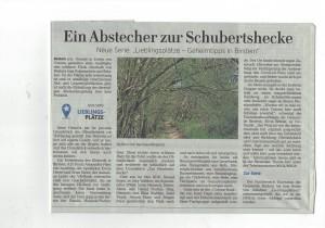 Lieblingsplatz in Birstein