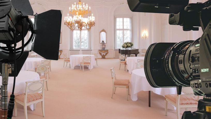 Film und Fotoaufnahmen im Schloss Birstein